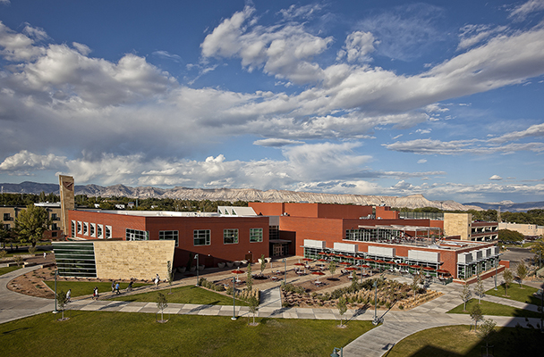 Colorado Mesa University campus