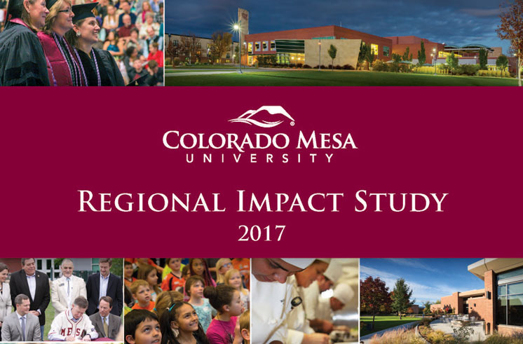 Cover for the 2017 Regional Impact Study