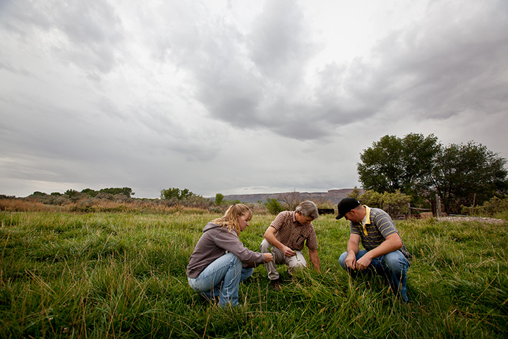agriculture students