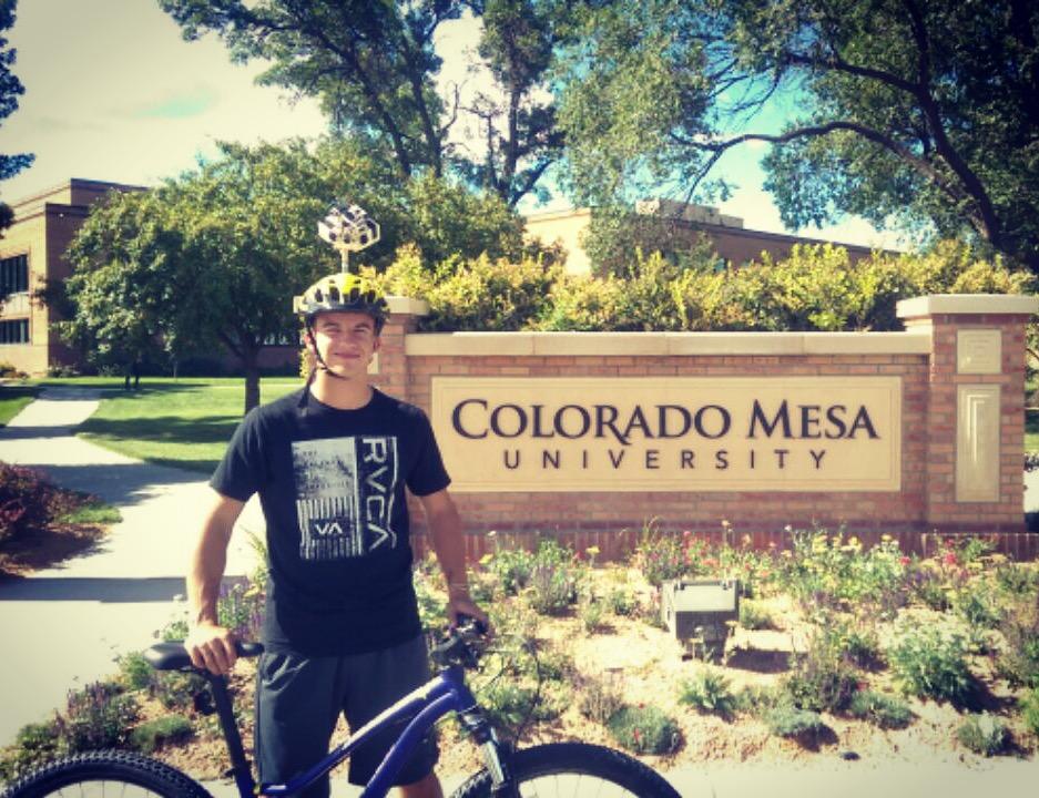 interactive biker