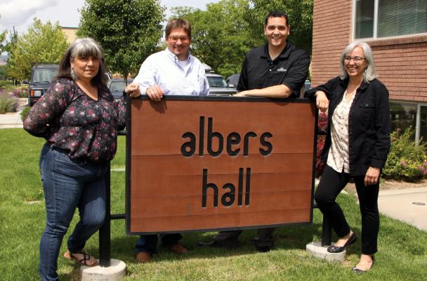 Albers Hall staff