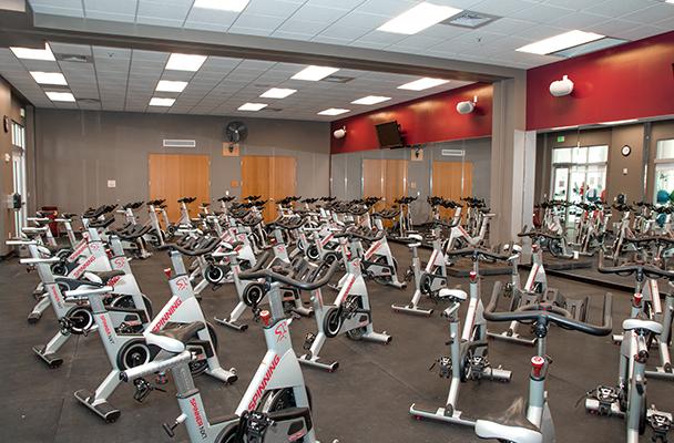 Hamilton Rec Center Cycling Class