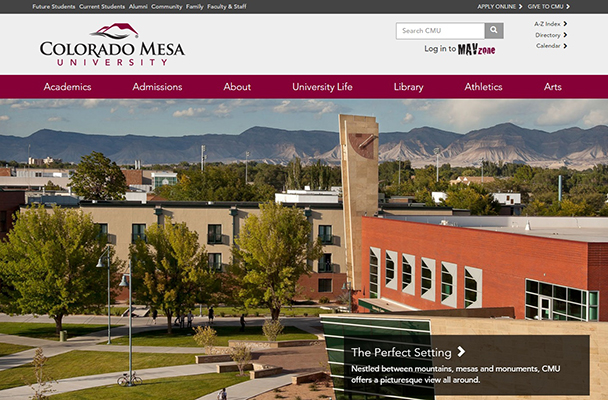 CMU new website