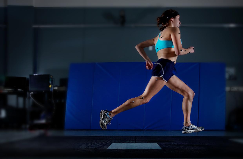 runner on treadmill