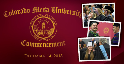 December Commencement, Friday, May 14