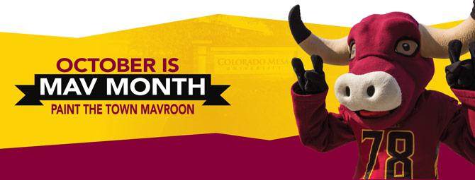 October is Mav Month