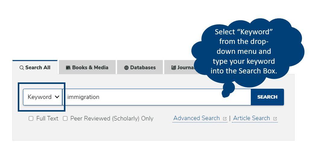 one-search Keyword