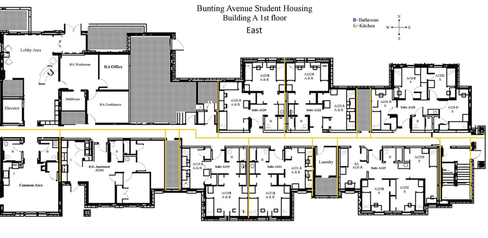 Dorm Room Layout At St John S University