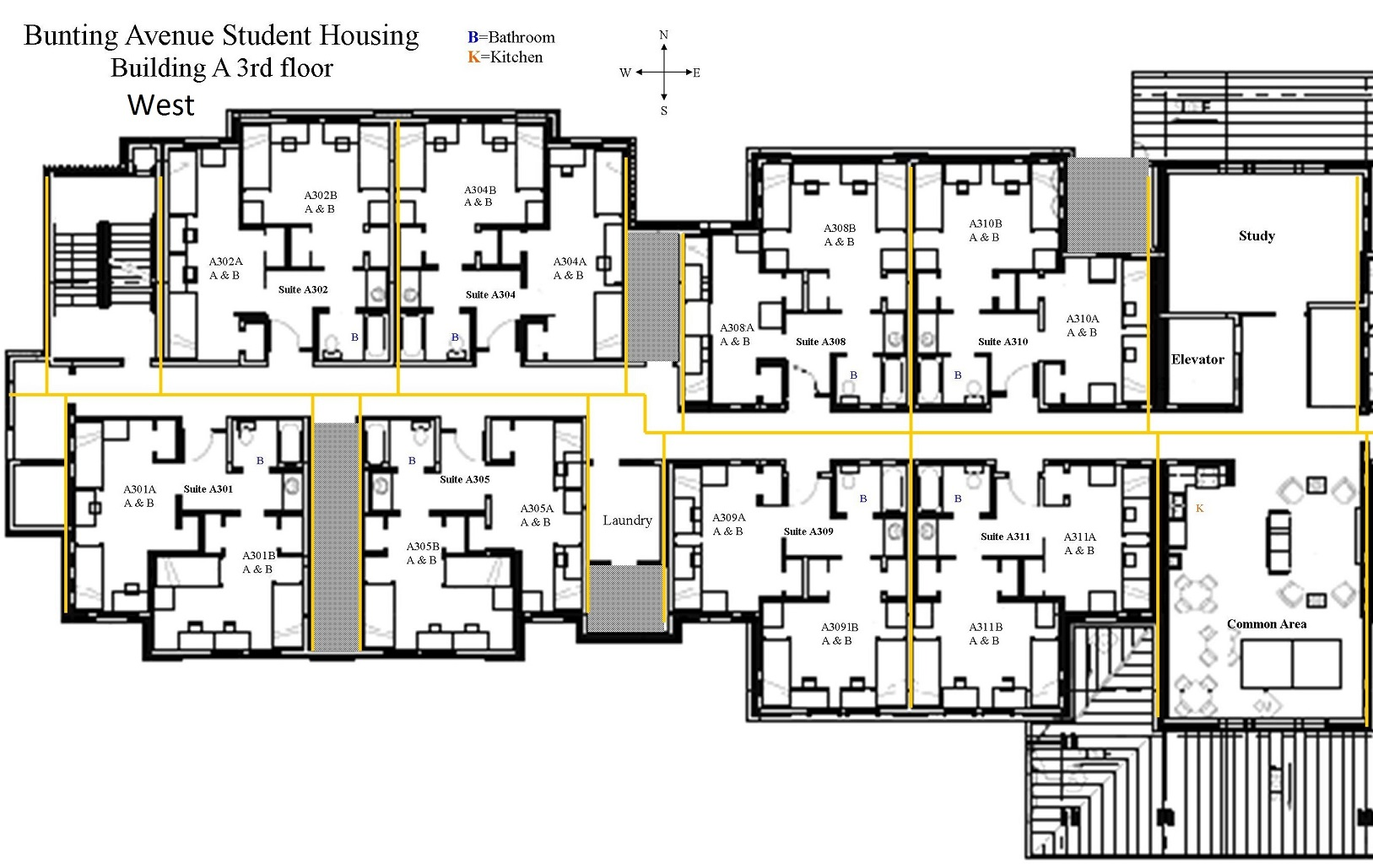 Kitchenette Floor Plans Bunting Colorado Mesa University