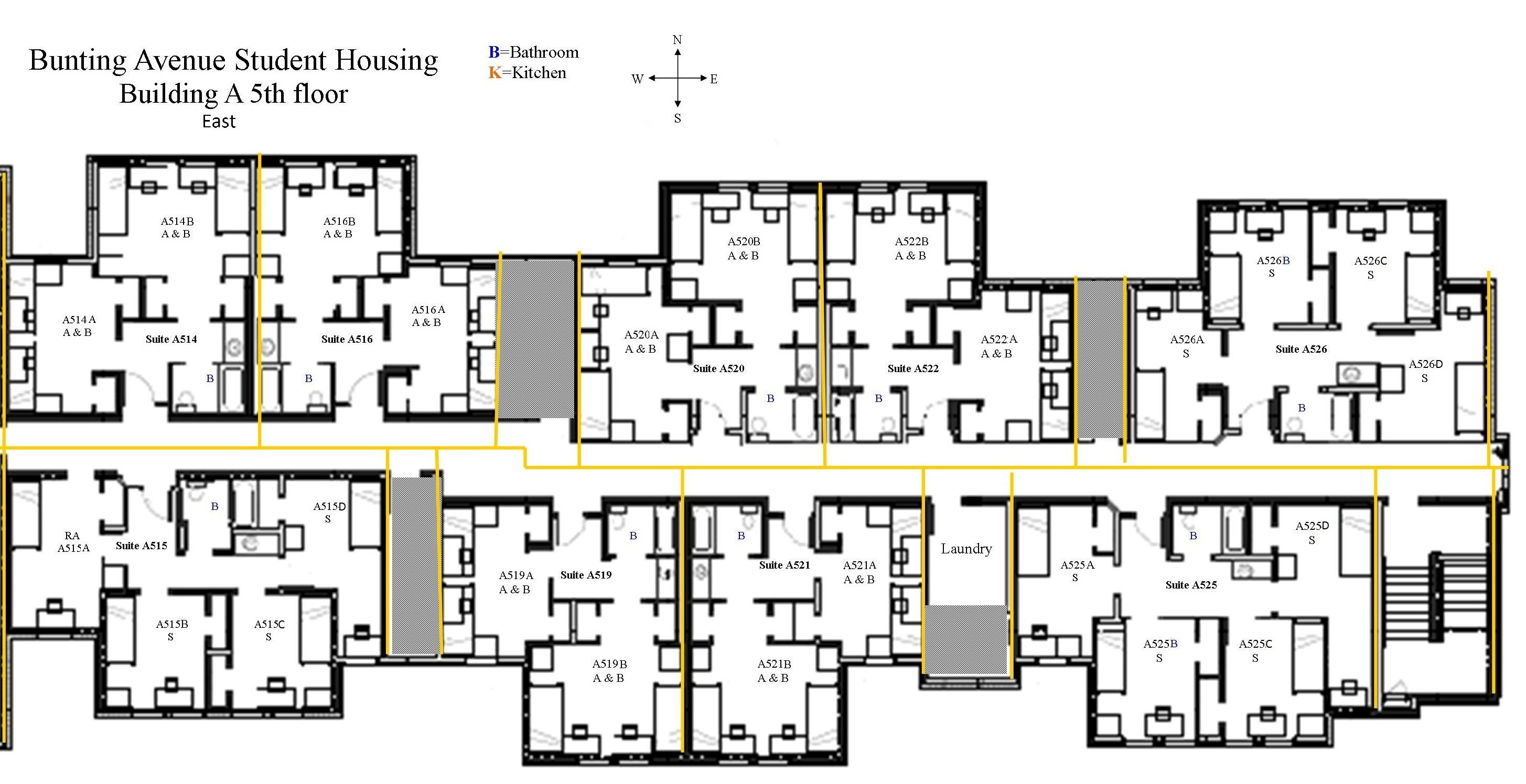 Center Hall Colonial Floor Plan Student Housing Floor Plans Gurus Floor